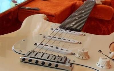 Fender Jeff beck olympic white
