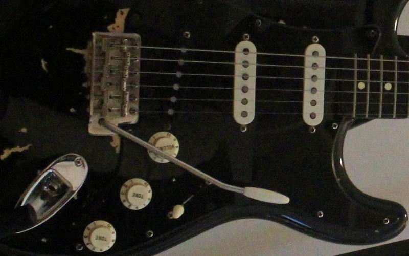 Fender Stratocaster (Black)