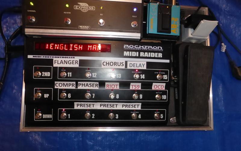 Rocktron Midi Raider +patchmate